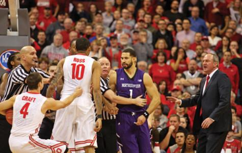 Men's Basketball: Northwestern loses control, falls apart at Ohio State