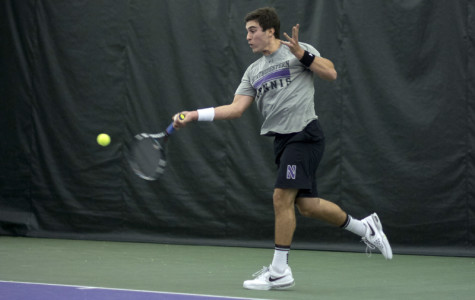 Men's Tennis: Wildcats let victory slip away against Notre Dame