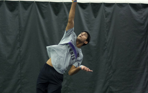 Men's Tennis: Wildcats prepare for daunting weekend trio