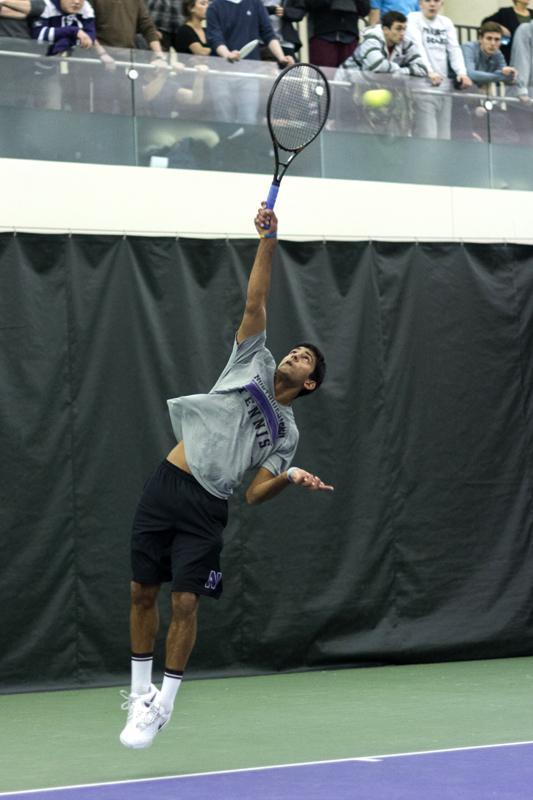 Men's Tennis: Wildcats prepare for daunting weekend trio