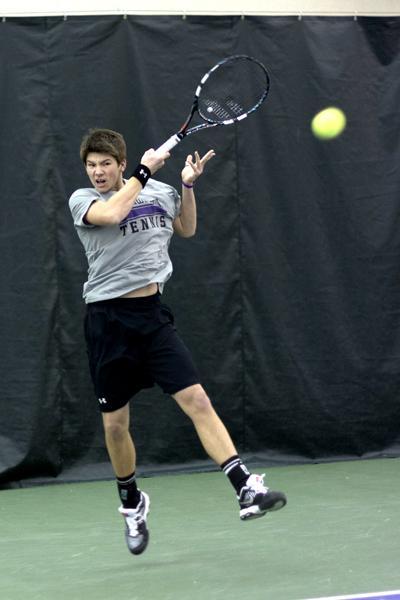 Focus Lee County >> Men's Tennis: Northwestern lets Harvard match slip away ...