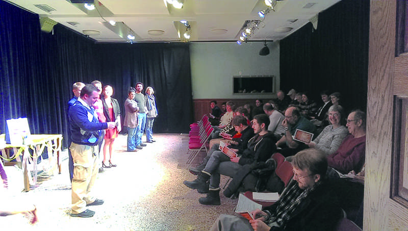 Audiences are voting for their favorite shows on opening night at the First Laugh festival. The festival kicked off Friday at the Piccolo Theatre in Evanston.