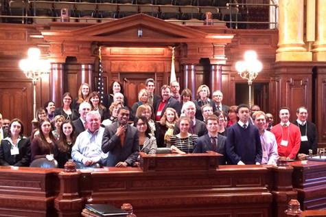 Evanston group goes to Springfield for fifth annual lobbying day