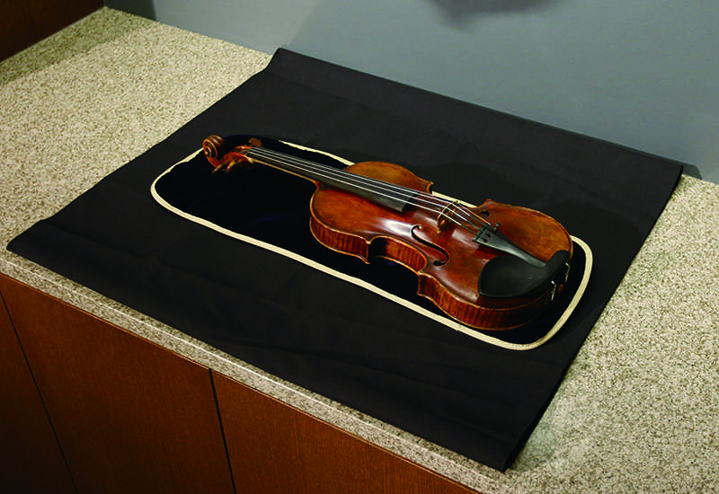 A nearly 300-year-old Stradivarius violin stolen from Henry and Leigh Bienen School of Music lecturer Frank Almond was found. Three people have been arrested in connection with the theft.