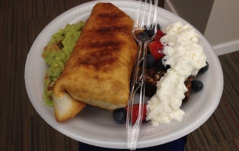 Cooking and Recipes: Chicken chimichangas with chunky guacamole