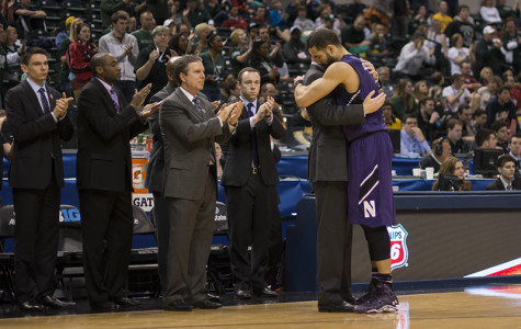 Men's Basketball: Northwestern bows out of Big Ten Tournament in loss to Michigan State