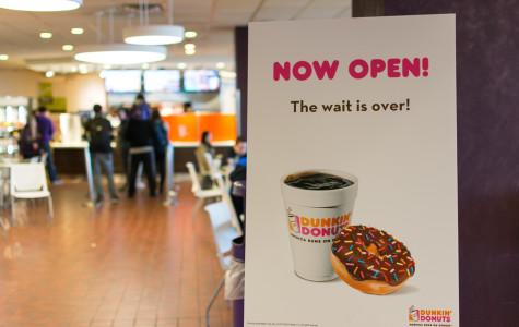 Dunkin' Donuts open on ground floor of Norris
