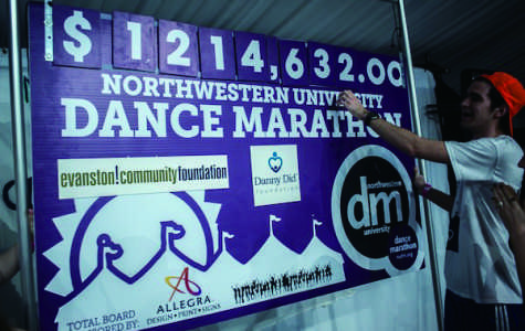 Participants in Dance Marathon are searching for ways to fundraise at the last minute before DM begins Friday. Last year's DM raised a total of $1,214,632, with $741,394.10 going to the Danny Did Foundation and $82,377.12 to the Evanston Community Foundation.