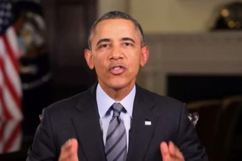 Obama surprises Dance Marathon dancers with Block 1 video