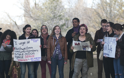 Students protest at 'We Will' launch event