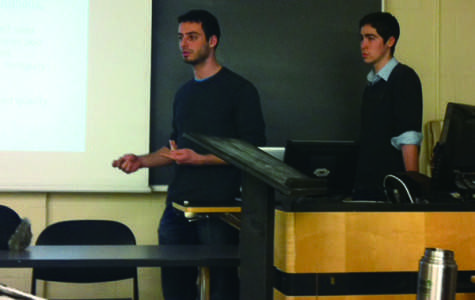 Students talk two-state solution for the Israel-Palestine conflict