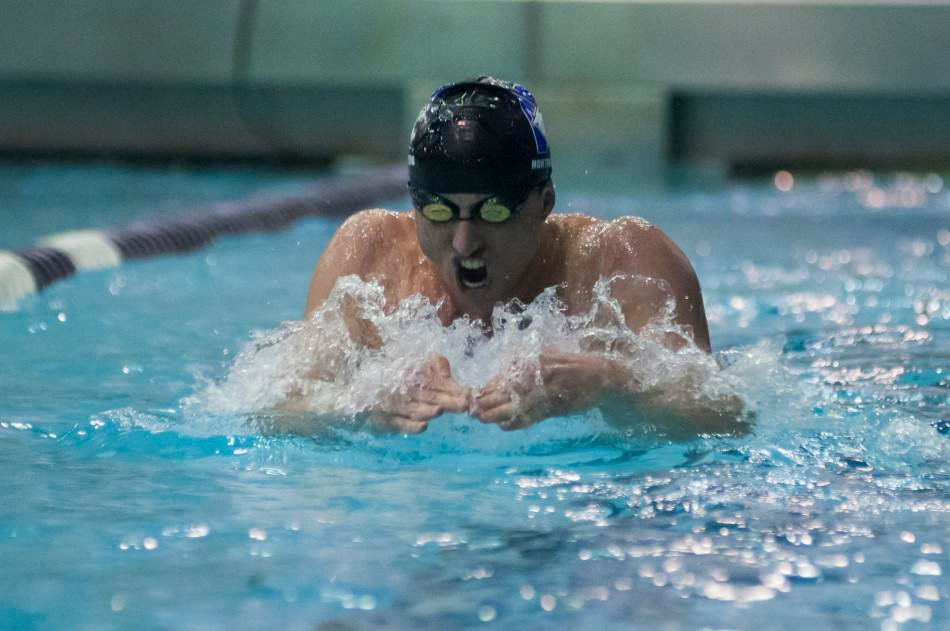 Men's Swimming: A true Cardiac Cat: Andrew Seitz returns to the pool after mystery heart condition