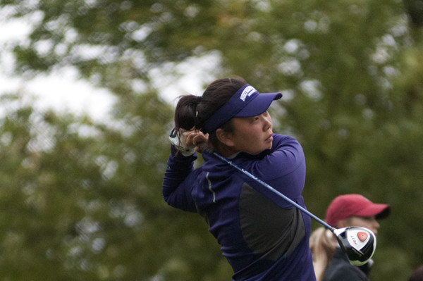Junior Hana Lee was Northwestern's top performer during a disappointing weekend for the team at the Bryan National Collegiate. Lee tied for 27th, and the Wildcats finished an underwhelming 14th at the event.