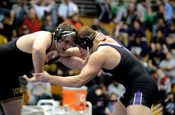 No. 3 junior heavyweight Mike McMullan wrestles former No. 1 Bobby Telford of Iowa. In addition to Telford, McMullan may meet another top heavyweight, defending NCAA champion Tony Nelson of Minnesota, at Big Tens.