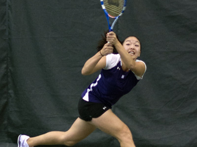 "Senior Belinda Niu won her doubles match, then prevailed in a three-hour singles showdown with Purdue's Daniela Vidal. The Wildcats topped the Boilermakers 4-3. ""What would we do without Belinda Niu?"" coach Claire Pollard said."