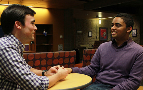 Ajith, Van Atta reflect on year of 'linking perspectives,' advocating for students