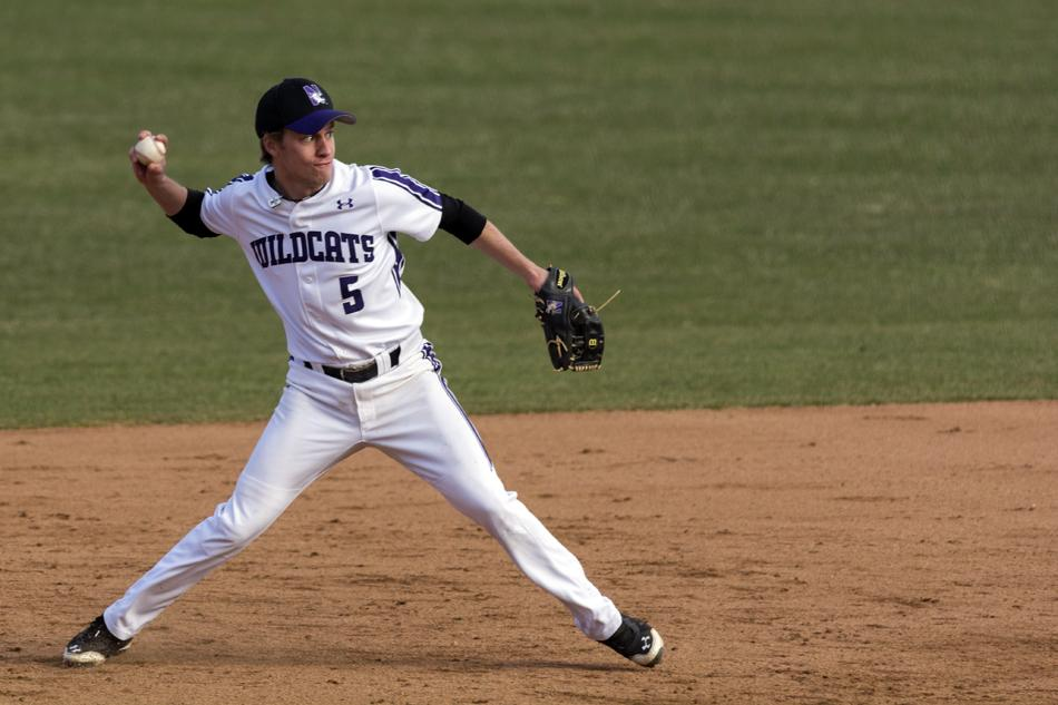 Junior shortstop Cody Stevens was the hero for Northwestern against Nebraska on Friday, driving in the game-winning run in the top of the 12th inning. The Wildcats left Lincoln with two out of three victories over the Cornhuskers.