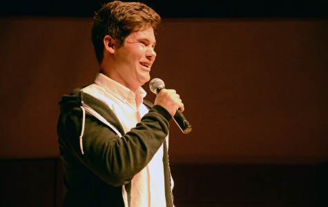 Adam DeVine sells out Pick-Staiger as A&O spring speaker