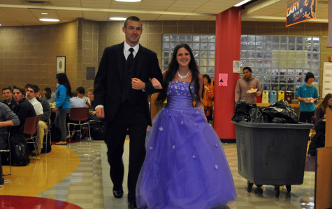 ETHS students model free prom dresses at school fashion show