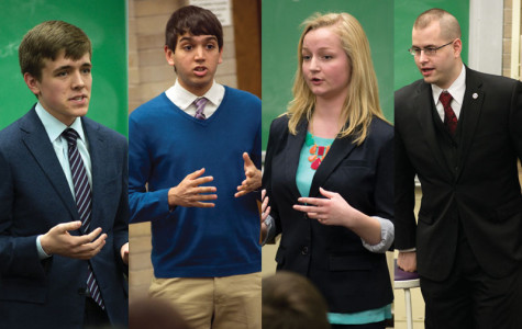 ASG executive vice presidential candidates Erik Zorn and Ronak Patel, as well as presidential candidates Julia Watson and Alex Deitchman, square off in the only campaign debate Monday night. The election will take place Wednesday.