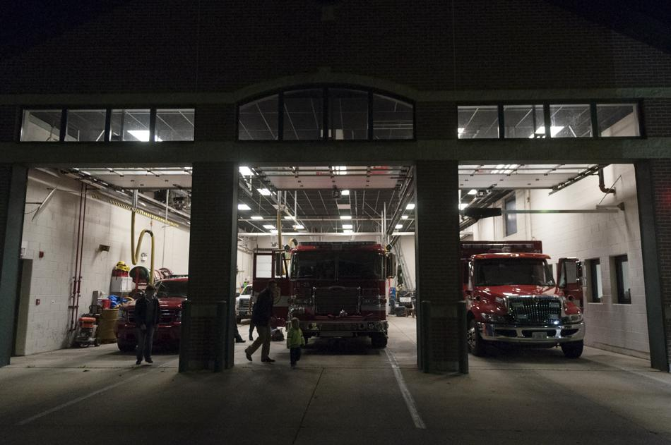 The+fire+station+on+Emerson+Street+is+one+of+five+in+Evanston.+City+officials+are+worried+legislation+being+considered+by+the+Illinois+General+Assembly+would+give+them+less+control+over+fire+department+staffing+decisions.