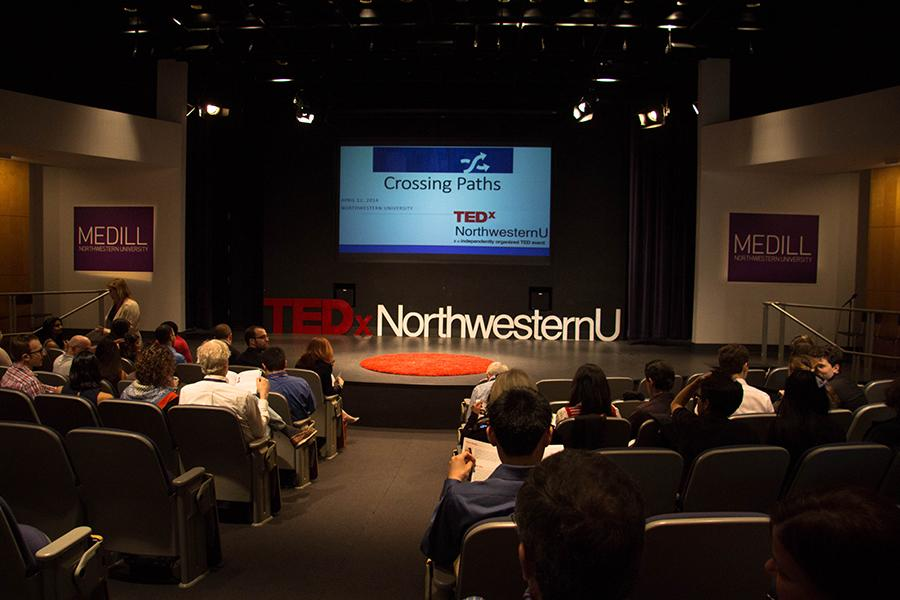 Northwestern hosts its first full-day TedX conference on Saturday in the McCormick Tribune Center. The event featured speeches from students, professors and alumni, official TED Talk videos and performances from several student groups.