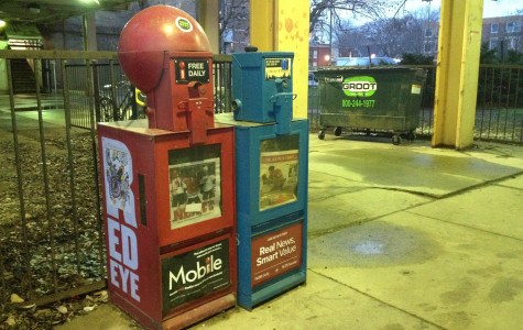 Evanston currently has 46 newspaper distribution box locations throughout the city. In order to reduce clutter on sidewalks, the Administration and Public Works Committee heard a proposal Monday to cut the number of box locations to 17.