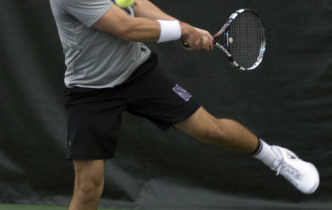 Men's Tennis: Wildcats fall 4-3 in pair of Big Ten road contests