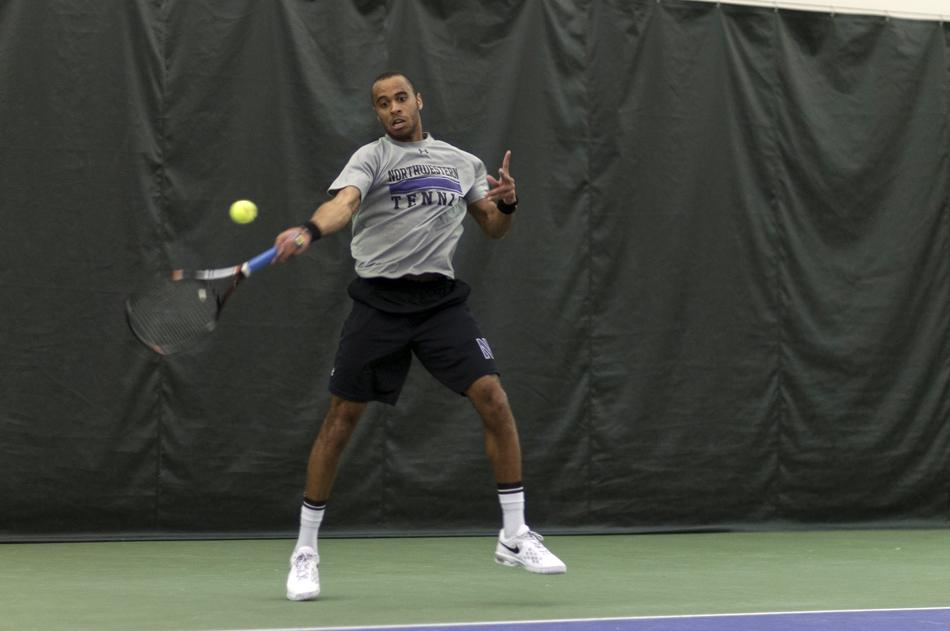 Freshman Sam Shropshire carries a seven-match winning streak into this weekend's road trip to Iowa and Nebraska. Both the men's and women's teams face the Hawkeyes and Cornhuskers, with the women playing in Evanston.