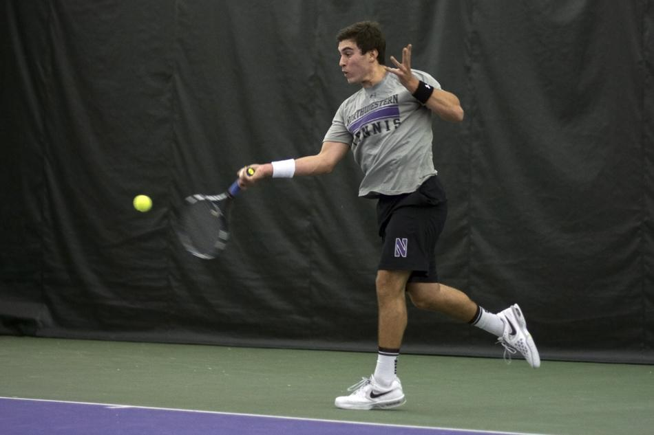 After going three weeks without a singles victory, senior Raleigh Smith came through with a 6-3, 7-5 win over Nebraska's Dusty Boyer on Friday. Smith retired from his match Sunday with an injury.
