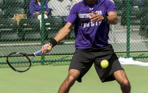 Freshman Sam Shropshire is one of several Northwestern players carrying impressive winning streaks into the Big Ten Tournament. The Wildcats take on Iowa on Thursday in the event's first round.
