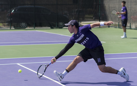 Men's Tennis: Wildcats cruise to first-round victory, ready for Boilermakers