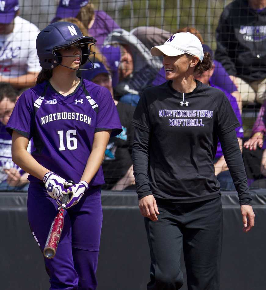 Senior Paige Tonz is one of many Northwestern players to benefit from Kate Drohan's leadership. Drohan has been the Wildcats' coach since 2002 and has compiled a 446-242 record.