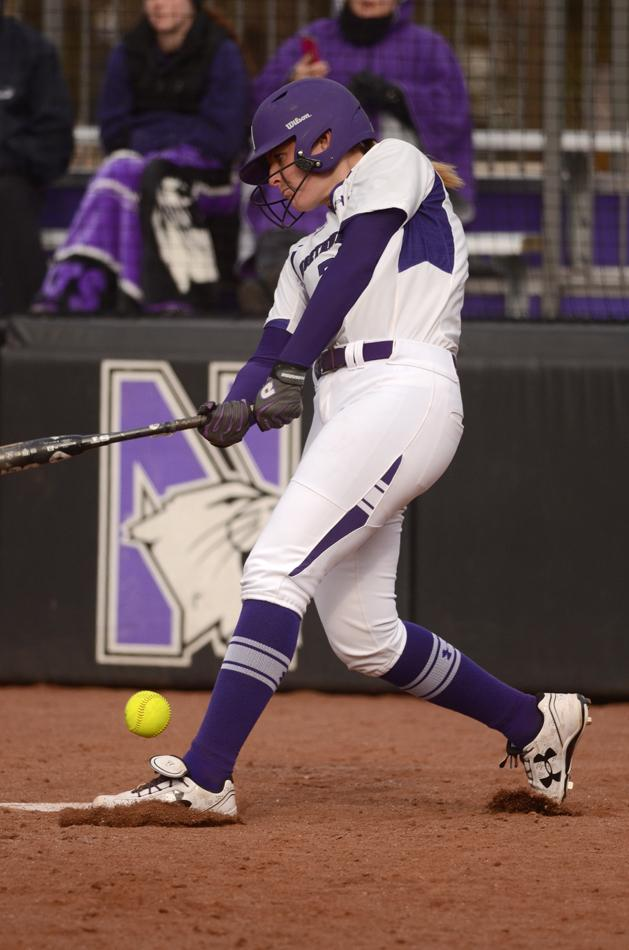 Sophomore second baseman Brianna LeBeau launched a three-run home run — her sixth of the season — to highlight a 12-run first inning, as Northwestern cruised to a 14-7 victory over Illinois-Chicago.