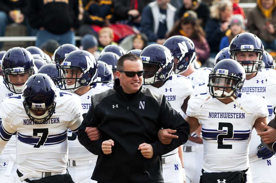 On the same side for four years, coach Pat Fitzgerald and Kain Colter have opposing interests in Friday morning's union election. Colter is a leader of the unionization movement, whereas Fitzgerald says he does not support the union.