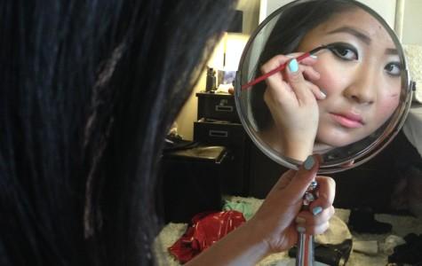 Makeup Mavericks: Communication freshman Sharon Wei