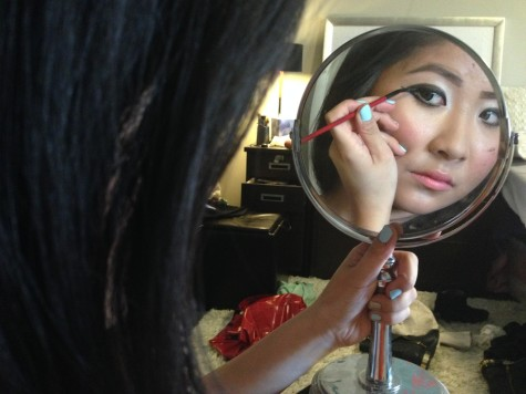 Makeup Mavericks: Communication freshman Sharon Wei