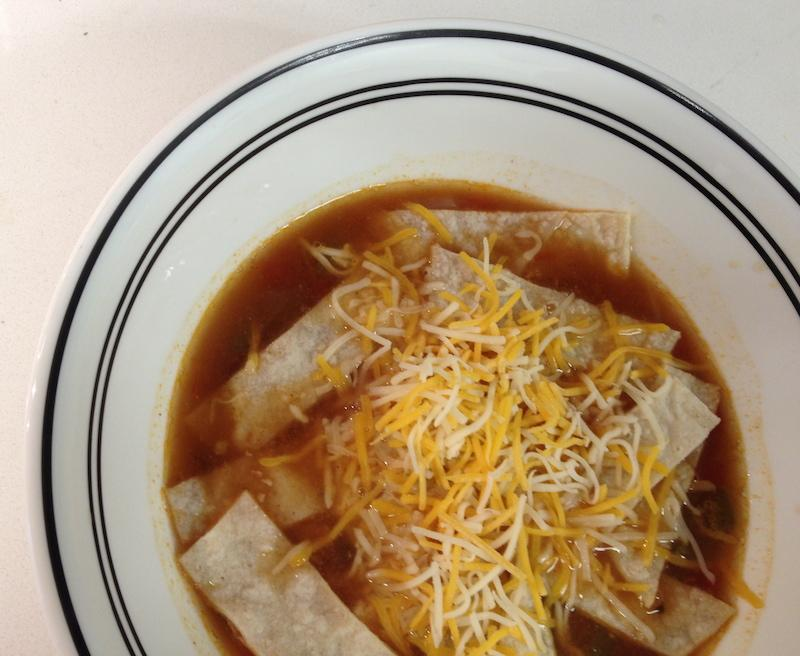 Cooking and Recipes: Chicken tortilla soup