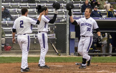 Baseball: Wildcats follow slow start with hot bats in 8-4 win