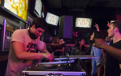 Student DJ prepares for Dillo Day performance