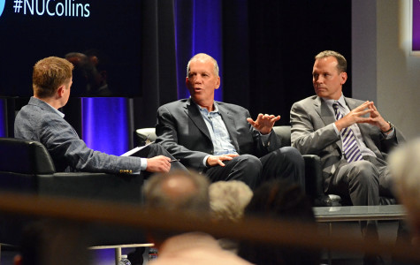 Doug, Chris Collins share stories, emotions during panel