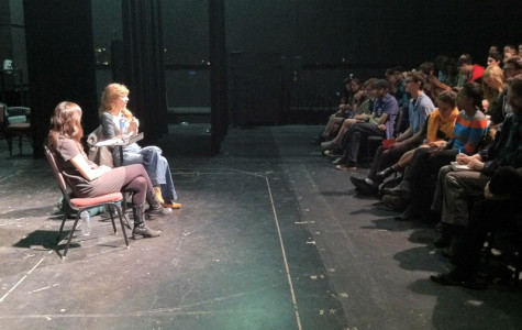 Award-winning playwright offers advice to aspiring students