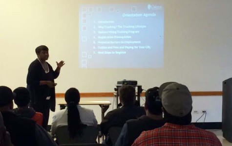 Info session discusses commercial driving, job openings