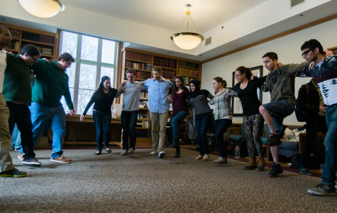 Middle East and North African studies program organizes Dabke dance