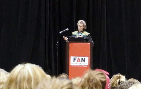 Temple Grandin speaks at Welsh-Ryan about autistic minds
