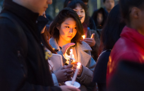 Northwestern remembers lives lost in South Korea ferry sinking