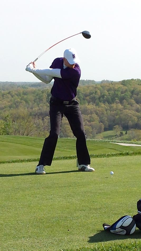 """Senior Jack Perry finished third at the Big Ten Championships, leading Northwestern to a fourth-place team finish but was unsatisfied with both results. """"To never get a Big Ten Championship ring either with the team or individually is a bust that will go on my golf career no matter what I do,"""" he said."""