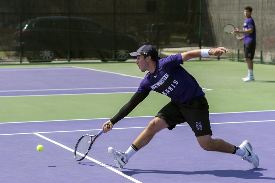 Though+Northwestern%E2%80%99s+team+season+is+over%2C+senior+Raleigh+Smith%E2%80%99s+career+continues+this+week+at+the+NCAA+Singles+Championships.+The+64-person+tournament+begins+Thursday.