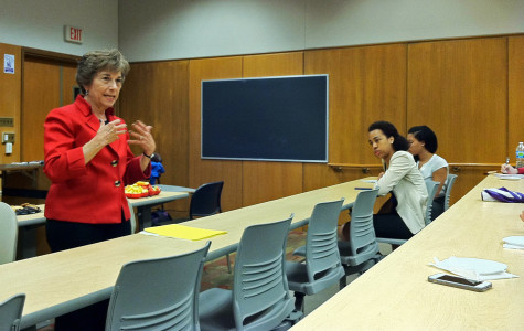 Rep. Jan Schakowsky (D-Ill.) spoke about youth involvement in politics at Northwestern on Tuesday. She encouraged students to vote in off-season elections and spoke about a new initiative to register voters.