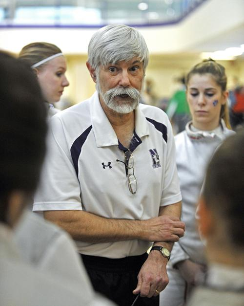 In addition to being a wildly successful fencing coach, Laurie Schiller is an expert in African history and a Civil War reenactor. The colorful character has led Northwestern's program from club-level to national power.